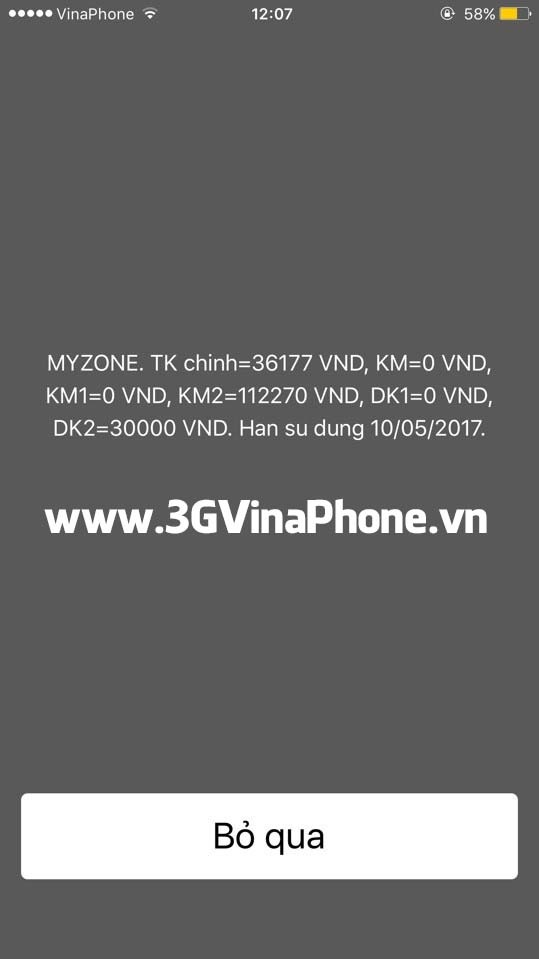 Tài khoản khuyến mãi Dk1 DK2 VinaPhone dùng để làm gì?