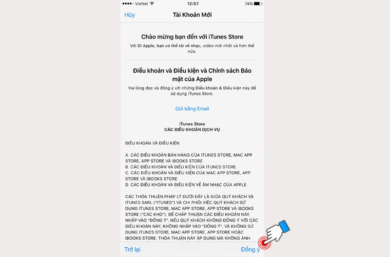Tạo Apple ID nhanh nhất