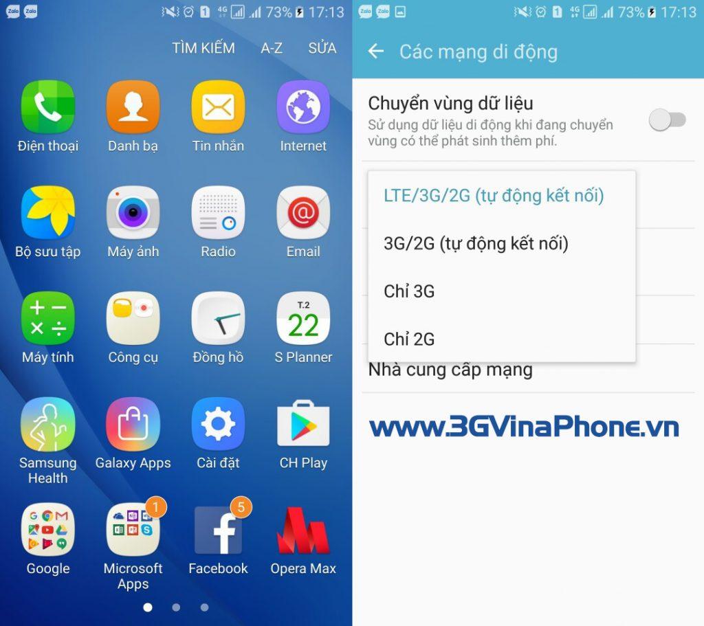 Cách kích hoạt 4G, bật 4G trên điện thoại Android, iPhone