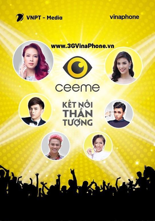 Cài Ứng dụng CeeMe VinaPhone Kết nối thần tượng cùng VinaPhone