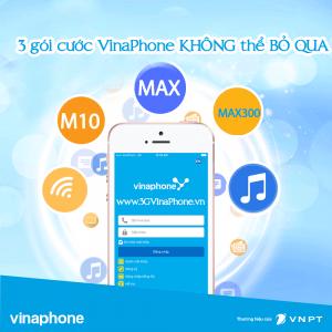 3 gói cước 3G VinaPhone không thể bỏ qua khi dùng Mobile Internet
