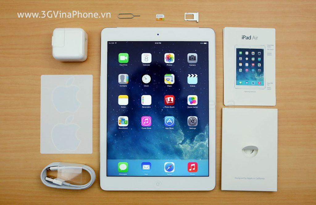 Ipad Air 1, Ipad Air 2 có hỗ trợ chuẩn 4G LTE tại Việt Nam không?