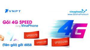 Đăng ký các gói 4G Data Speed Vinaphone tốc độ cao thử nghiệm