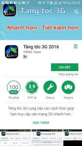 Hướng dẫn cách tăng tốc độ 3G Vinaphone cho Android