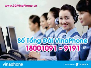 Số điện thoại tổng đài Vinaphone Hotline CSKH Vinaphone 9191