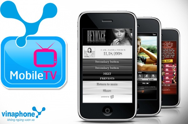 Mobile TV Vinaphone