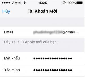 Cách tạo tài khoản Apple ID miễn phí trên iPhone
