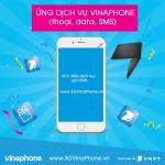 Ứng dịch vụ Vinaphone (tin nhắn, phút gọi, data) khi hết tiền