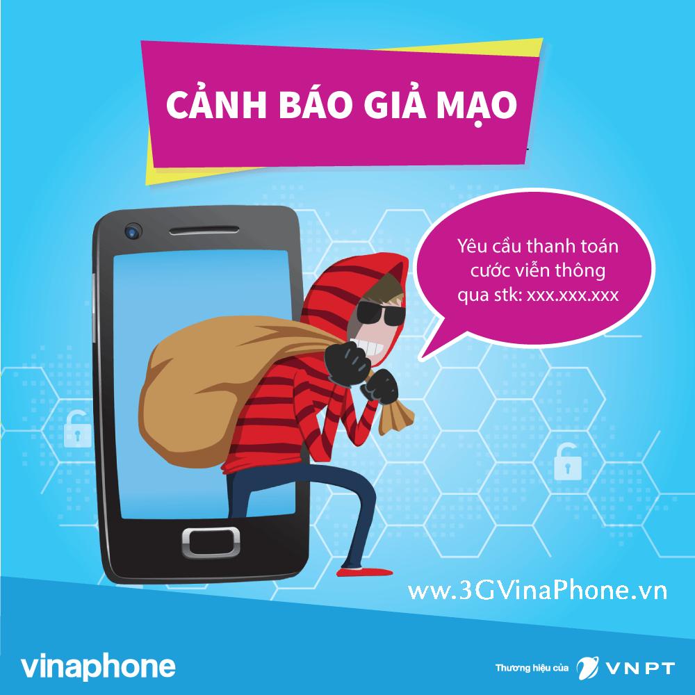 VNPT VinaPhone cảnh báo: Lừa đảo nhắc nợ cước điện thoại
