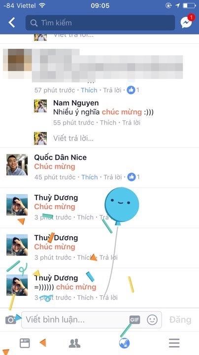 """Comment """"Chúc mừng"""" trên Facebook, bạn sẽ thấy điều kỳ diệu"""