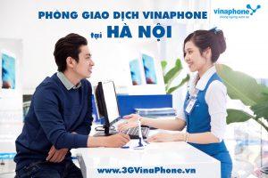 Địa chỉ cửa hàng giao dịch của Vinaphone tại Hà Nội
