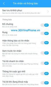 Cách ẩn nội dung tắt thông báo zalo trên iOS, Android, PC