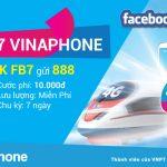 Đăng ký gói FB7 VinaPhone, gói cước Facebook 1 tuần