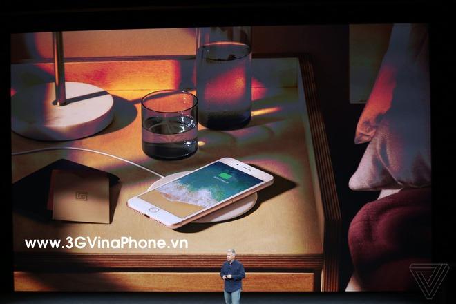 Tính năng sạc không dây trên iPhone 8 / 8 Plus