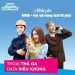 Đăng ký gói cước VD99 PLus Vinaphone nhận 60Gb data miễn phí