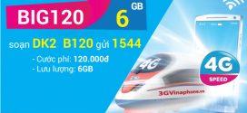 Cách đăng ký gói BIG120 VinaPhone nhận 6GB data chỉ 120.000đ
