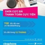 Sim 3G VinaPhone EZcom D69 nhận 7GB data chỉ 69.000 / tháng