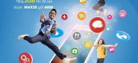 Cách đăng ký gói MAX25 VinaPhone cho sinh viên