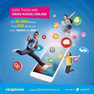 Cách đăng ký gói MAX25 VinaPhone