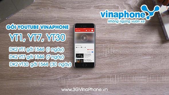 Đăng ký gói cước Youtube Vinaphone xem Video thả ga Miễn Phí 3G/4G