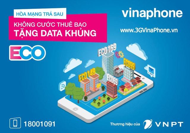 Hoà mạng gói cước Eco Vinaphone