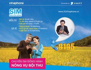 Đăng ký gói cước Alo29 và Alo 35 VinaPhone cho sim khuyến nông