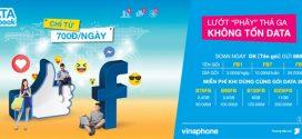 Đăng ký gói cước Facebook VinaPhone lướt Face miễn phí 3G /4G