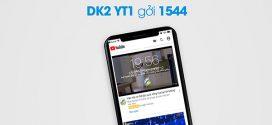 Đăng ký gói cước YT1 Vinaphone gói Youtube 1 ngày 10.000đ