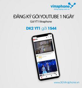 Đăng ký gói cước YT1 Vinaphone gói Youtube 1 ngày 10.000