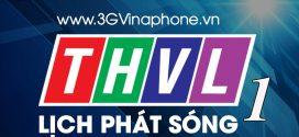 Lịch phát sóng đài THVL1 ngày 13/12/2017