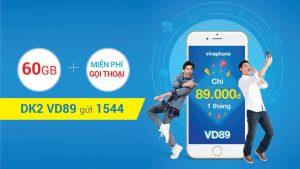 Đăng ký gói VD89 Vinaphone