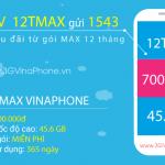 Đăng ký gói cước 12TMAX Vinaphone Gói MAX Vinaphone 12 tháng trọn gói