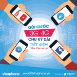 Bảng giá các gói cước 3G 4G Vinaphone chu kỳ dài cho điện thoại