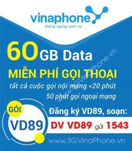 Đăng ký gói C69 Vinaphone miễn phí 1500 phút gọi nội mạng