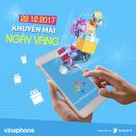 Khuyến mãi Vinaphone ngày vàng 22/12/2017 tặng 50% giá trị thẻ nạp