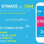 Đăng ký gói 6TMAXs Vinaphone Gói MAXs sinh viên 6 tháng