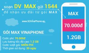 Hướng dẫn đăng ký gói cước 3G MAX Vinaphone trọn gói 2018