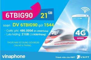 Cách đăng ký gói cước 6TBIG90 Vinaphone chu kỳ 6 tháng