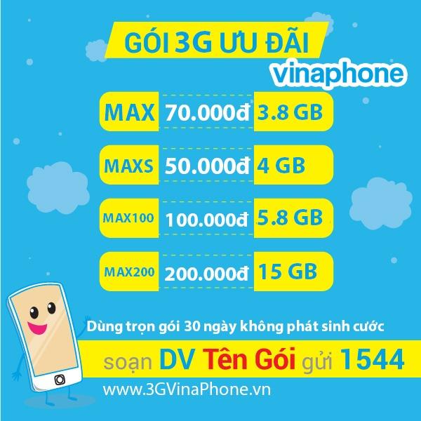 Mẹo: Có nên đăng ký gói cước 3G Vinaphone vào cuối tháng không?