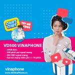 Hướng dẫn đăng ký gói cước VD500 Vinaphone nhận 25GB + 500 phút gọi + gọi thả ga