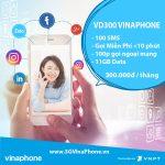 Đăng ký gói cước VD300 của Vinaphone nhận 11GB Data + gọi nội mạng, ngoại mạng