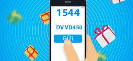 Đăng ký gói cước VD450 Vinaphone nhận 400p gọi + 18GB + SMS