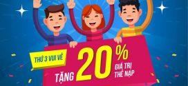 Khuyến mãi Vinaphone 20/11/2018 tặng 20% ngày nhà giáo Việt Nam