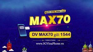Gói max70 vinaphone trọn gói 70k