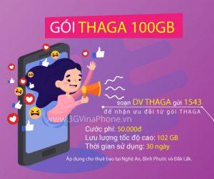 Đăng ký gói cước Thả Ga Vinaphone nhận 100Gb data chỉ 50.000đ/tháng