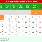 Lịch nghỉ lễ Quốc Khánh 2-9