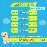 Đăng Ký 3G VinaPhone 1 tháng chu kỳ dài