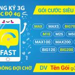 Hướng dẫn cách ứng data 4G VinaPhone từ 10MB đến 500MB