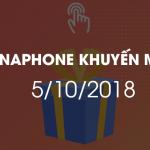 Vinaphone khuyến mãi ngày vàng 5/10/2018 tặng 20% giá trị thẻ nạp