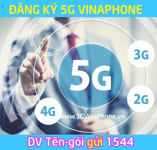 Tổng hợp các gói cước 5G Vinaphone Giá Rẻ Data Khủng 2018